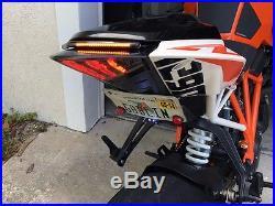 KTM 1290 Super Duke R 2014-2016 FENDER ELIMINATOR W LIGHT BAR TURN SIGNALS 15 16