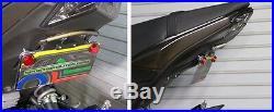 Kawasaki Z125 Pro Fender Eliminator, Front & Rear LED Turn Signals Clear Lens