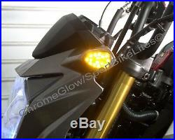 Kawasaki Z125 Pro Fender Eliminator, Front & Rear LED Turn Signals Smoked Lens