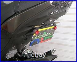 Kawasaki Z125 Pro SS Fender Eliminator Combo Kit Front & Rear LED Turn Signals