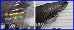 Kawasaki Z125 Pro Tucked Fender Eliminator with Amber LED Turn Signal Light Bar S