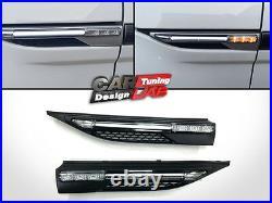 LED Daytime lights LED Indicators Side Markers Fenders For Range Rover Evoque