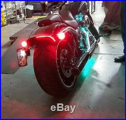 LED Fender Brake Light/Turn Signal Kit for Harley Davidson Breakout Red Lens