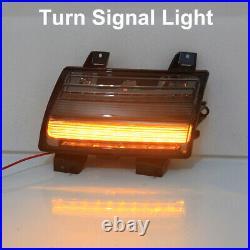LED Fender Daytime Running Turn Signal Lights Lamps for 2018-20 Jeep Wrangler JL