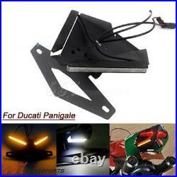LED Fender Eliminator Kit Tail Light Turn Signals For Ducati Panigale 959 1199