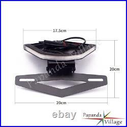 LED Rear Brake Turn Signal Tail Tidy Fender Eliminator Kit For BMW S1000RR 2020