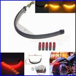 LED Rear Turn Signal Taillight Fender Eliminator Kit For Suzuki Boulevard M109R