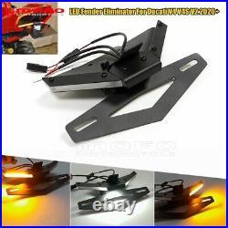 LED Tail Tidy Turn Signal Fender Eliminator Kit For Ducati V4 V4S V2 2020 2021