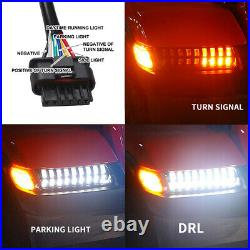 LED Turn Signal Fender Lights Running DRL for Jeep Wrangler JL JLU Rubicon 2018+
