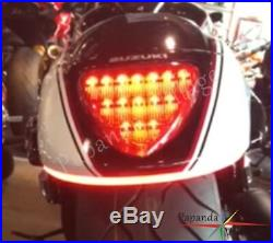 LED Turn Signals Fender Strip Light Bar Kit For Suzuki Boulevard M109R / M90 06+