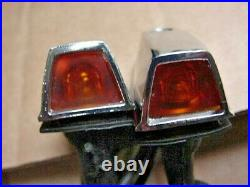 Mopar A-B-C-E-Body 73-79 NOS Turn Signal Fender Indicator Lights PR Cuda Duster