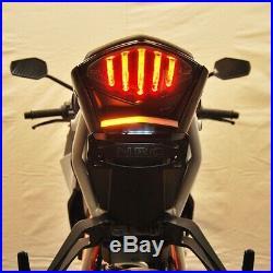 NEW RAGE CYCLES KTM SuperDuke 1290 Fender Eliminator KIT + LED Tail Turn Signals