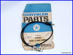 NOS MoPar 1969-71 Plymouth Dodge Chrys TOP OF FENDER TURN SIGNAL CABLE 2930801