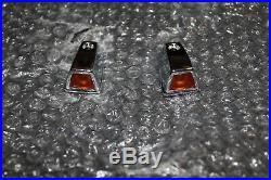 NOS Mopar/Dodge/Plymouth 1973-79 Fender Turn Signal Lamps/Covers with Lenses