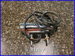 NOS Mopar Plymouth 1968 1969 Fender Mounted Bullet Turn Signal Assembly Right
