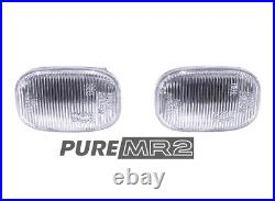 New Front Guard Fender Side Repeater Clear Upgrade Pair Genuine Toyota Mr2 Sw20