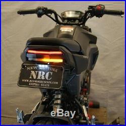 New Rage Cycles Fender Eliminator Kit LED Brake & Turn Signals 16-Up Honda Grom