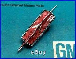 Nos 1974 Oldsmobile Cutlass Supreme Header Panel Emblem Gm Grill 73 74 Trim