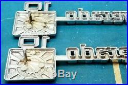 Nos 75 80 Chevy Silverado 10 Fender Emblem Set Oem Pickup Truck Ck C&k C K Trim