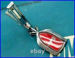 Nos 81 82 83 84 Olds Cutlass Calais Hood Ornament Header Panel Emblem Gm 85 86