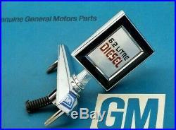Nos 81 87 91 Chevy Gmc 6.2 Diesel Litre Hood Ornament Emblem Truck Pickup Ck C K