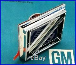 Nos 81 87 Buick Regal Roof Sail Panel Emblem Real Oem Gm Trim Molding Bulge