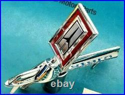 Nos 81 87 Olds Cutlass Supreme Sedan Wagon Hood Ornament Header Panel Emblem Gm