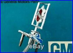 Nos 82 85 Olds Delta 88 Header Panel Emblem Custom Cruiser Hood Ornament Gm Trim