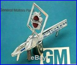 Nos 82 87 Olds Cutlass Supreme Sedan Hood Ornament Header Panel Emblem Gm Trim