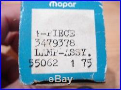 Nos Pair Mopar 1971 V, B, R, P 71 R Fender Turn Signal Lamps Nibs! Nice
