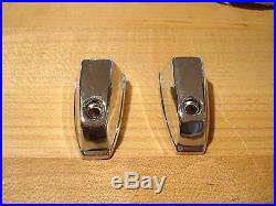 Nos Pair Mopar 1972-9 V, L, B, R, W, Fender Turn Signal Lamp Chrome Covers Nice