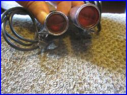 OEM 1964 1965 Ford Thunderbird Top of Fender Turn Signal Indicator Lights Lamps