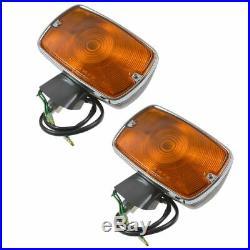 OEM 8151060200 Fender Amber Turn Signal Light Pair Set for FJ40 Land Cruiser New
