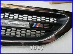 Oem 2013-2016 Bmw F10 M5 4.4l V8 Sedan Front Right Passenger Fender Grille 14383