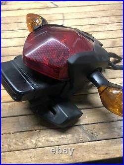 Oem Honda 2013-2016 Crf250l Rear Taillight / Turn Signal Assembly / Fender