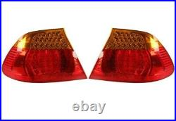 Pair Set Left & Right Outer Fender Genuine LED Tail Lights For BMW E46 3-Series
