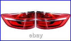 Pair Set Left & Right Outer Fender Genuine Tail Lights Lamp For BMW E71 X6 13-14