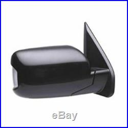 Power Memory Turn Signal Smooth Black Mirror Passenger Right for 09-13 Pilot