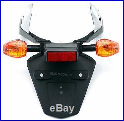 Rear Fender License Plate Mount Bracket Turn Signal For Honda CBR1000RR CBR600RR