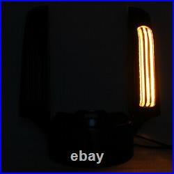 Red Rear Fender Fascia With LED Light Turn Signal For Harley Touring models 14-up