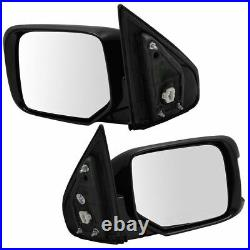 Side View Door Mirror Power Memory Turn Signal Paint to Match Pair for Pilot