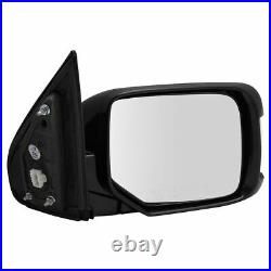 Side View Door Mirror Power Memory Turn Signal Paint to Match RH for Honda Pilot