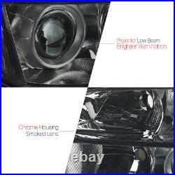 Smoke Tinted Headlight Lamp Clear Turn Signal Reflector for 06-08 Honda Pilot