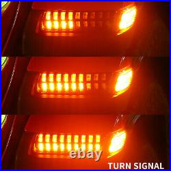 Smoked LED Fender Lights Turn Signal Running Water DRL for Jeep Wrangler JL 18+