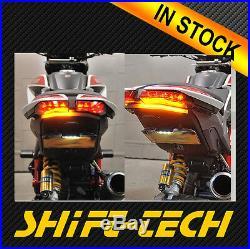 St1010-2 Ducati Hypermotard 821 939 Fender Eliminator Tail Tidy Led Turn Signal
