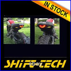 St1150 Ducati Scrambler Fender Eliminator Led Turn Signals + Undertray