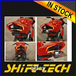 St1919 Ducati Panigale V4 Fender Eliminator Led Turn Signal Kit License Plate