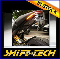 St920 Ducati Monster 796 1100 Fender Eliminator Tail Tidy + Led Turn Signals