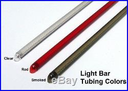 Suzuki Boulevard M109R Red LED Rear Turn Signal Fender Eliminator Kit Clear
