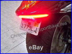 Suzuki Boulevard M109R Red LED Rear Under Fender Turn Signal Kit Smoke Lens